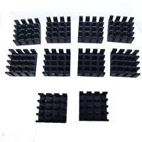 US Stock 10pcs 14 x 14 x 7mm Heat Sink Cooling Aluminum Heatsink CPU IC LED