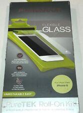 PureGear PureTek Roll-On Screen Shield Kit for iPhone 6s/6 Flexible Glass Clear