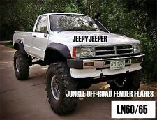 JUNGLE OFFROAD TOYOTA HILUX LN60 LN65 1983-1988 PICKUP FENDER FLARES WHEEL ARCH