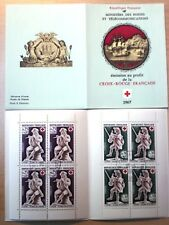 France Booklet 1967 Red Cross Mi#1607-1608 - CTO - XF - Complete