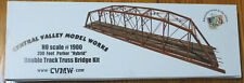 """Central Valley Model Works HO #1900 (200 Foot Parker """"Hybrid"""" Double Track Truss"""