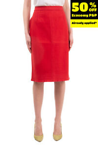 RRP€140 MARINA SPORT By MARINA RINALDI Pencil Skirt Plus Size 23 Made in Italy