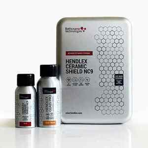 Hendlex CERAMIC SHIELD NC9 40ml And GLASS PRO 50ml Car Body Nano Coating Set