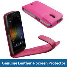 Funda De Piel Rosa Para Samsung Galaxy Nexus I9250 Android cubrir titular parachoques