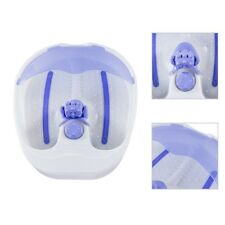 Portable Bubble Heat Roll Soothing Soak Tub Revive Relax Foot Spa Bath Massager