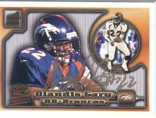 2000 PACIFIC AURORA ROOKIE GOLD AUTO AUTOGRAPH OLANDIS GARY #43 Denver Broncos