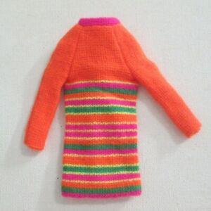 Vtg Barbie: SKIPPER #1956 Skimmy Stripes ~ Dress VGC
