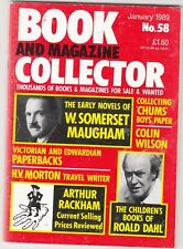 BOOK AND MAGAZINE COLLECTOR  -   No 58 -- JANUARY 1989