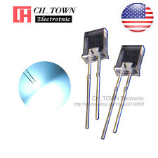 100pcs 2x5x7mm Diffused White Light Rectangle Rectangular Square LED Diodes USA