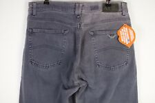 VINTAGE Mens ARMANI Jeans STRAIGHT Button Fly FADED SOFT W32 L29 Old School P30