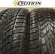 2055516 DUNLOP 205 55 16 91H SP WINTER SPORT 4D Used Part Worn 6mm x 2 Tyres