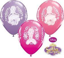 """25 Sofia The First 11"""" LATTICE PALLONCINI DISNEY Principessa Festa Di Compleanno Decorazione"""