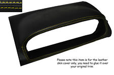 YELLOW STITCHING SPEEDO HOOD SKIN COVER FITS NISSAN X-TRAIL 2005-2007 FACELIFT