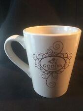 Godiva Chocolatier chocolate beautiful coffee mug cup tall 2010