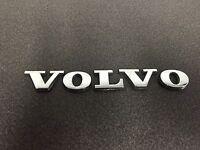 "USED Genuine OEM Rear ""Volvo"" Emblem for 2001-2009 Volvo S60 models RE-TAPED!"