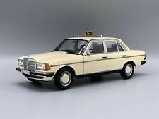 NOREV B66040670 - Mercedes Benz 200 Taxi Von 1980 W123 Zur 1/18