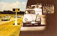 Dallas Texas Orbis III Traffic Safety System Vought Co Vintage Postcard K93146