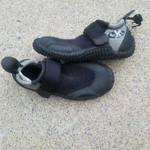 NRS Titanium Black/Silver Water Diving Fishing Kayak Shoes Size 5