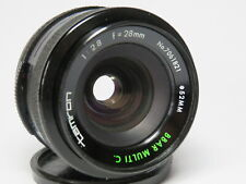 Tamron 28mm f2.8 Wide Angle Prime Lens for Adaptall-2 Mount System & DSLR