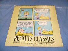 Peanuts Classics 1994 Collectible Calendar Unused Hallmark Snoopy Woodstock /b1
