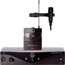 New AKG Perception Wireless lavalier Presenter Set Make Offer! Auth Dealer!