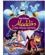 Aladdin DVD  (2004, 2-Disc Set, Special Edition) New & Sealed!