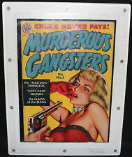 Murderous Gangsters #2 - Babe at Gunpoint - Fortress Holder - Grade 6.0 - 1951