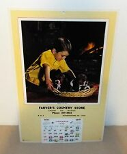 FARVER'S COUNTRY STORE 1976 CALENDAR ELIZABETHTOWN, PA