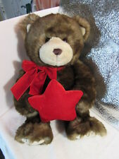"Gund Bear 46410 Peoples Jewellers Musical  When You Wish Upon a Star 18"" Plush"