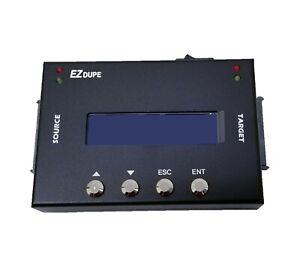 EZ Dupe 1:1 Portable Hard Drive Duplicator/Sanitizer 9GB/Min HDD Copier/Eraser