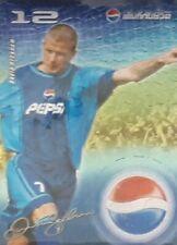 DAVID BECKHAM Pepsi Cola promo card