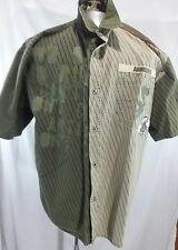 Mens ARME WELCOME TO THE HOOD, Urban 2XL button up shirt sleeve Shirt