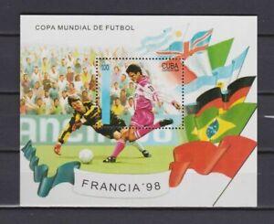 s7158)CU  BA 1998 MNH** WC Football'98- CM Calcio s/s
