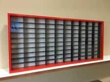 Display case cabinet for 1/64 diecast scale cars (hotwheels,matchbox) 100N3C