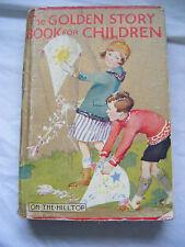 The Golden Story Book For Children-Mrs Herbert Strang- 1930's illustrated H/B