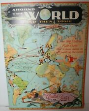 Around the World and Then Some with Walter Foster and His Sketch Book Vintage 60