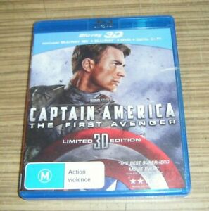 Pre-Owned Blu Ray - Captain America: The First Avenger [A10]