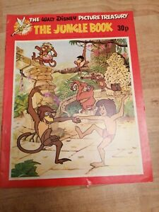 RARE Walt Disney Picture Treasury - The jungle book From 1975