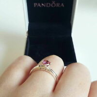 NEW Authentic PANDORA You & Me Ring, Multi-Colored CZ Ring SIZE 5,6,7,8,9