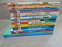 20 hardcover kids picture books DR SEUSS & beginner readers lot