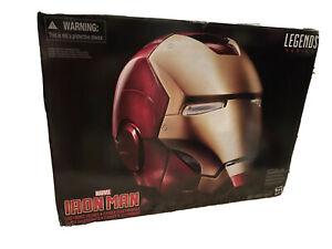 New Marvel Legends Adult Iron Man Electronic Helmet Full Scale 1:1 Hasbro NIB