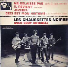 vinyle Les chaussettes noires Jezebel Eddy Mitchell Barclay 70529M 45t.EP