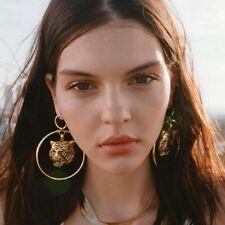 Fashion Statement Metal Geometric For Women Boho Dangle Earrings Modern Jewelry