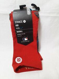 Stance  ST Louis Cardinals  socks MLB  Dmnd Pro Size YL - Crew Height Feel 360