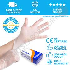Premium Vinyl Disposable Gloves Powder Free Latex Free Food Safe Antibacterial