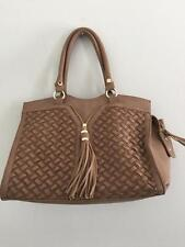 Big Buddha women's purse pocketbook tan brown beige used condition nice bag