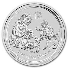 2016 Australia 5 oz Silver Lunar Monkey BU - SKU #92723