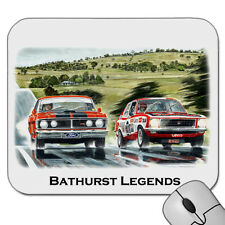 PETER BROCK  ALLAN MOFFAT  CONROD STRAIGHT   BATHURST 1000   MOUSE PAD