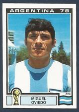 PANINI WORLD CUP STORY #098-MUNICH 74-ARGENTINA 78-ARGENTINA-MIGUEL OVIEDO