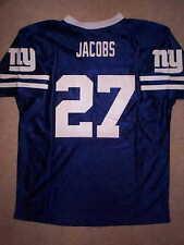 New York NY Giants BRANDON JACOBS nfl Jersey YOUTH KIDS BOYS (L-LARGE)